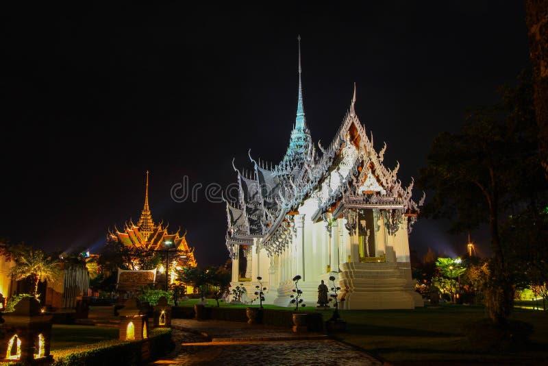 Sanphet Prasat pałac, Ayutthaya w Antycznym Siam, Samutparkan, Tajlandia zdjęcia royalty free