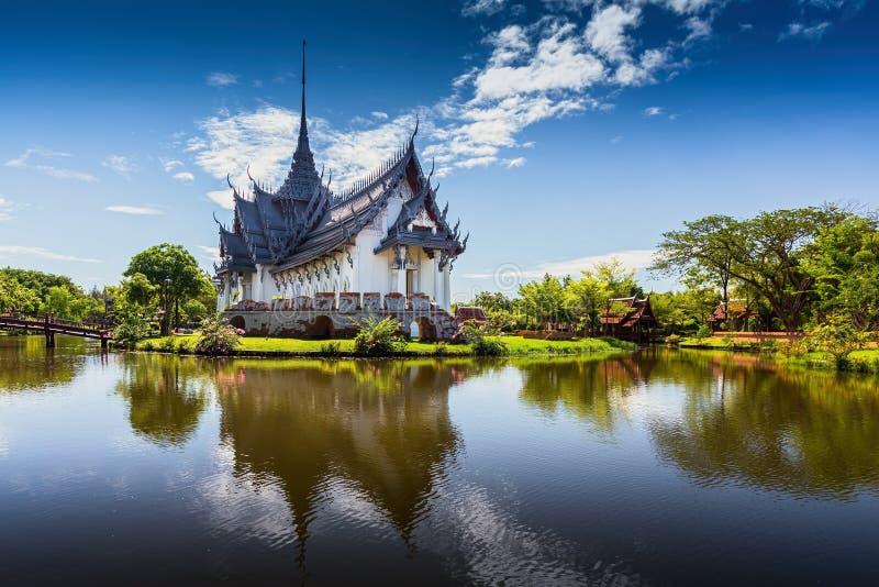 Sanphet Prasat slott, forntida stad, Bangkok royaltyfria foton