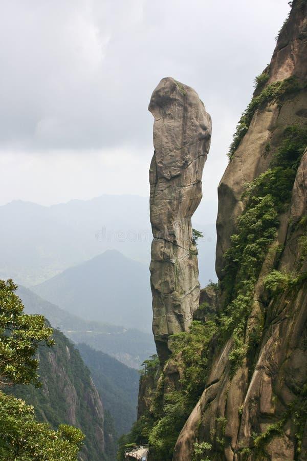 sanqing的山 免版税库存照片
