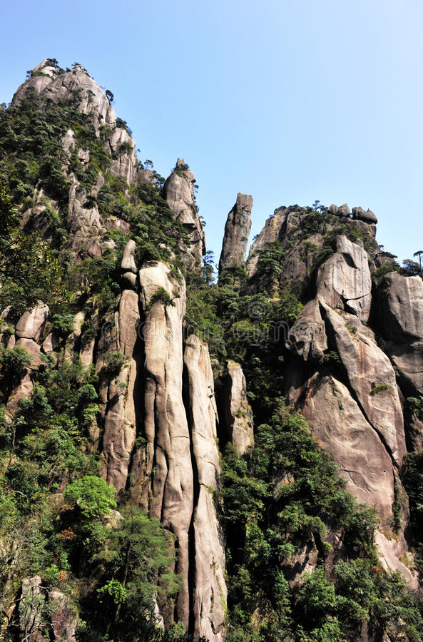 Download Sanqing mountain stock image. Image of forest, famous - 24069397