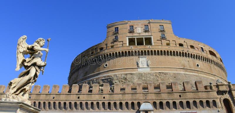 Sanr Angelo Castle, Ρώμη, Ιταλία στοκ φωτογραφία