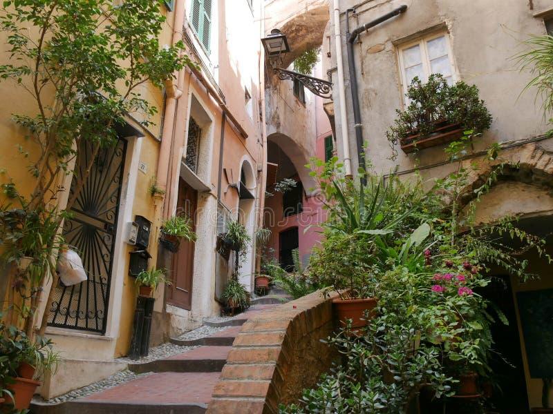 Sanremo - Bezirk Pigna lizenzfreies stockfoto