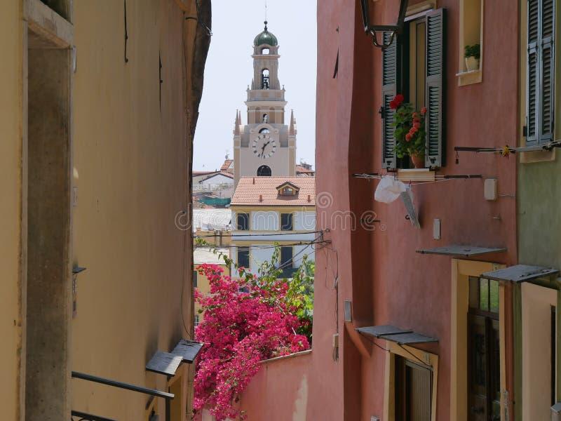 Sanremo - Bezirk Pigna stockbilder