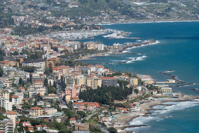 Sanremo, Italien lizenzfreies stockfoto