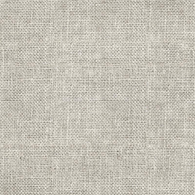 Sans couture blanc de toile de jute images libres de droits