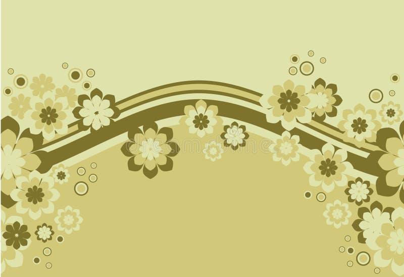 sans joint floral de fond illustration stock