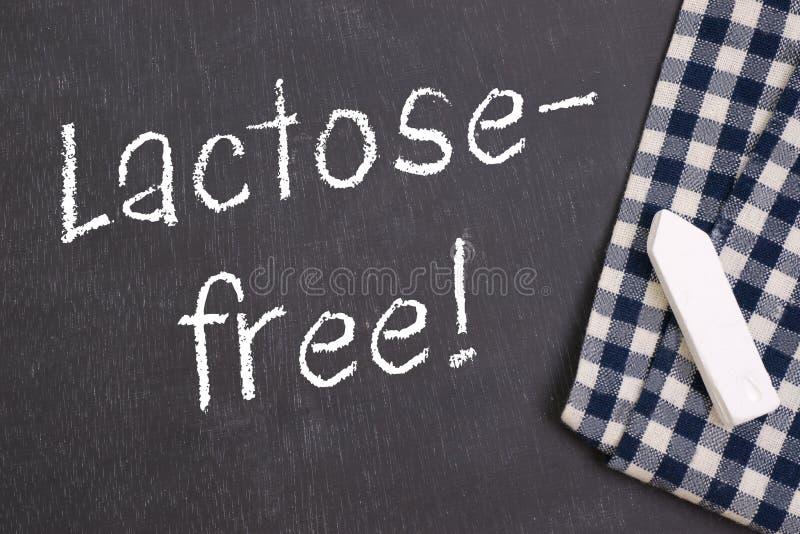 Sans lactose photo libre de droits