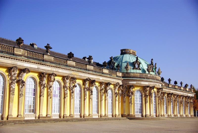 Sans souci w Potsdam obraz stock