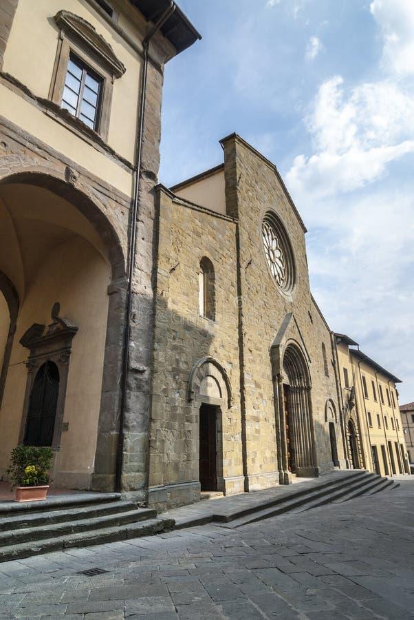 Sansepolcro大教堂 库存图片