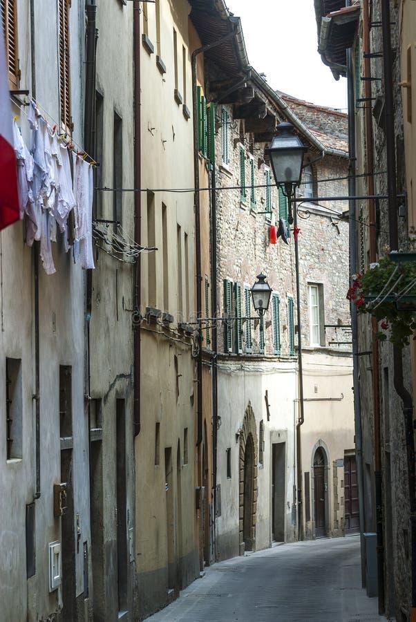 Sansepolcro (Tuscany) royaltyfria bilder