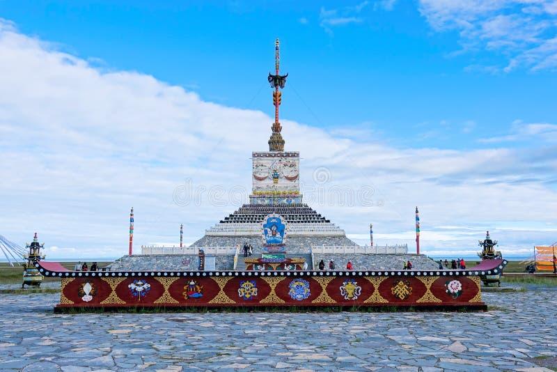 Sansheng ozia la torre immagine stock