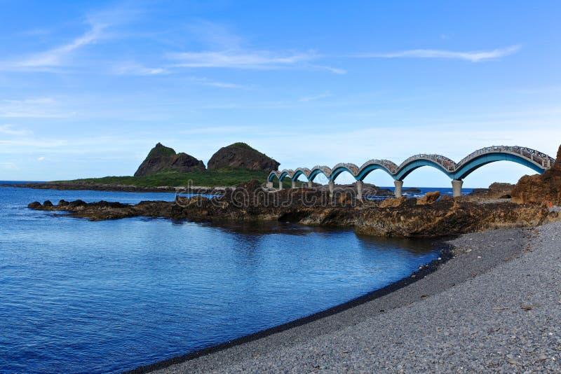 Sansiantai, Taitung, Tajwan zdjęcie stock