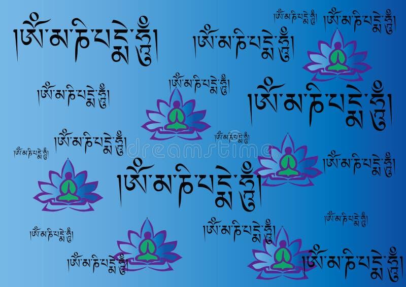 sanskrit vektor illustrationer