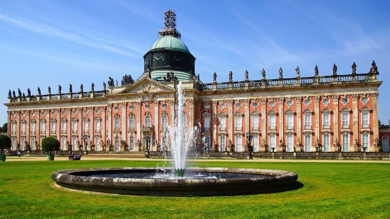 Sanssouci pałac w Potsdam, Niemcy. zdjęcie stock