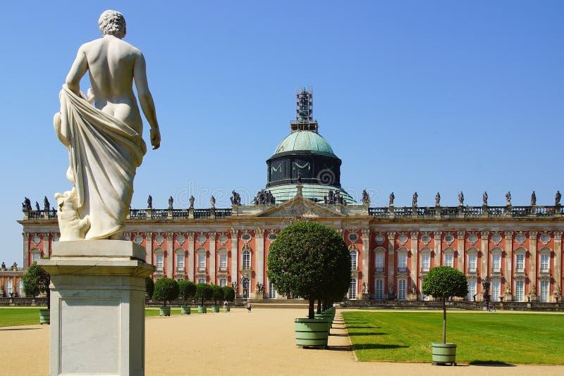 Sanssouci pałac w Potsdam, Niemcy. zdjęcia royalty free