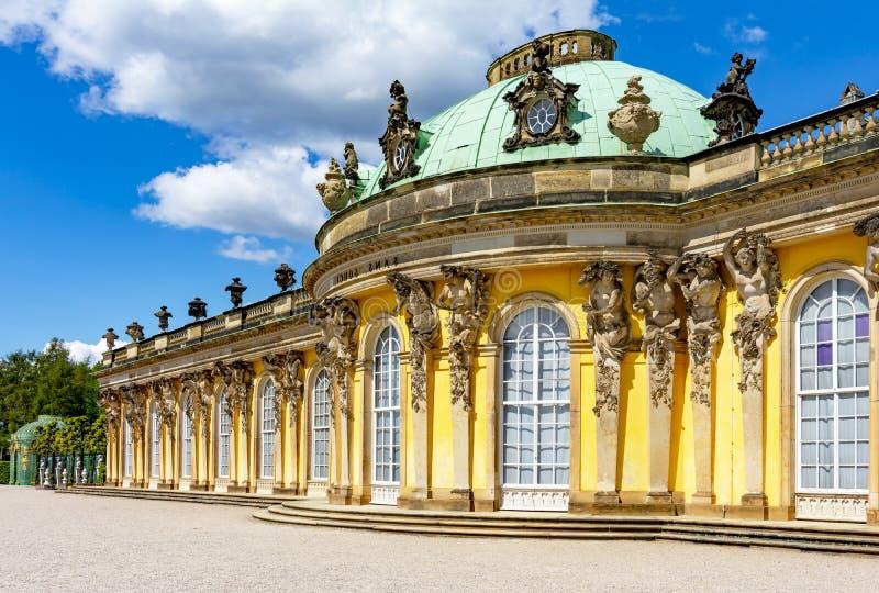 Sanssouci palace in Potsdam, Germany royalty free stock photography