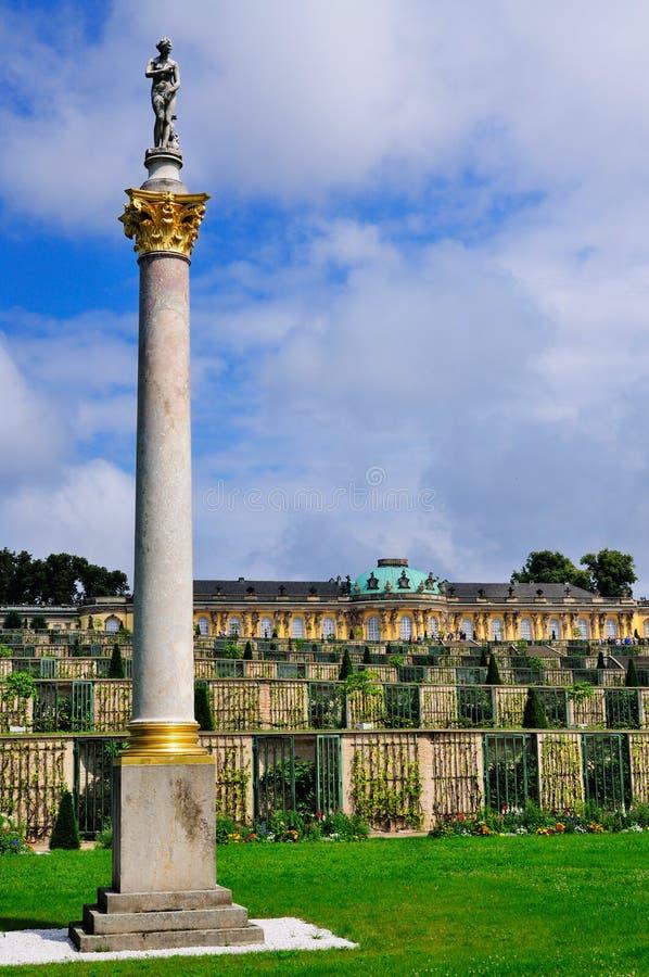 Sanssouci, Potsdam royalty-vrije stock foto