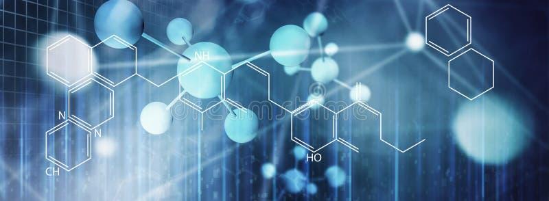 santé d'ADN de la science de laboratoire de médecine photos stock