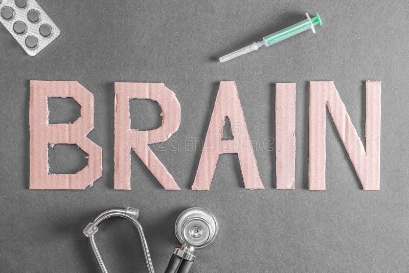 Santé de cerveau image libre de droits