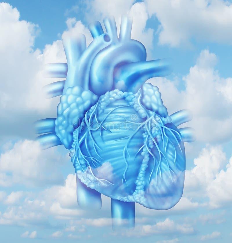 Santé de coeur illustration de vecteur