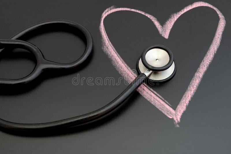 Santé de coeur photo libre de droits