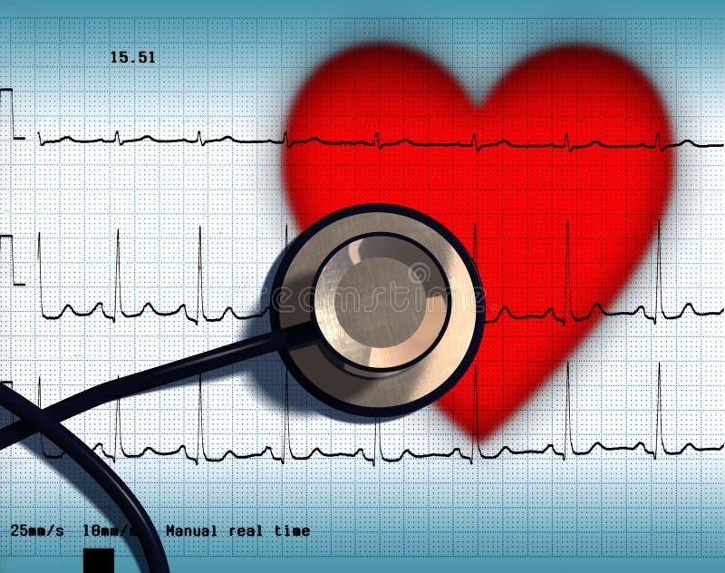 Santé de coeur illustration stock