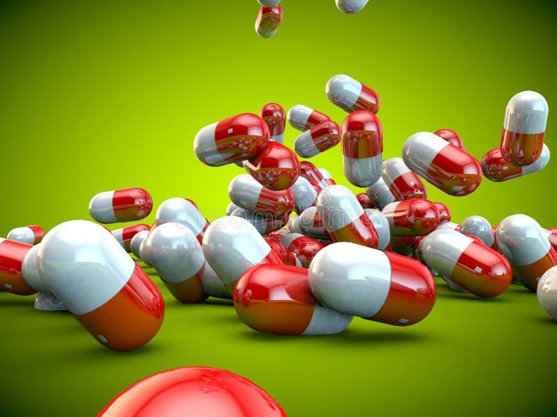 Download Santé De Maladie De Médecine De Capsules De Pilules De Pilule Illustration Stock - Illustration du hôpital, médecine: 56484472