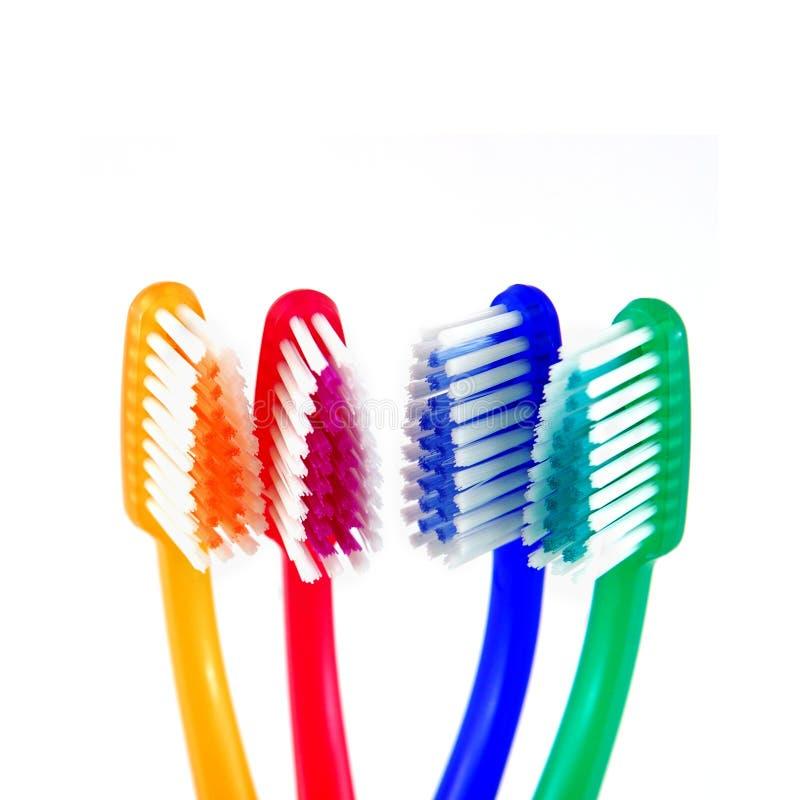 Santé dentaire de brosses à dents images stock