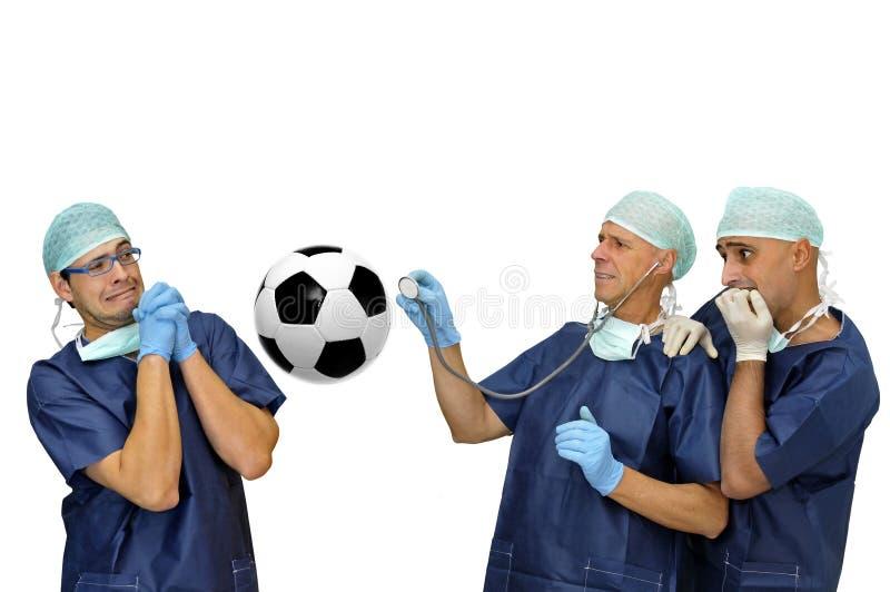Santé du football photographie stock