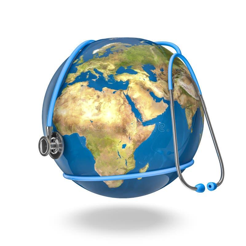 Santé du monde illustration libre de droits
