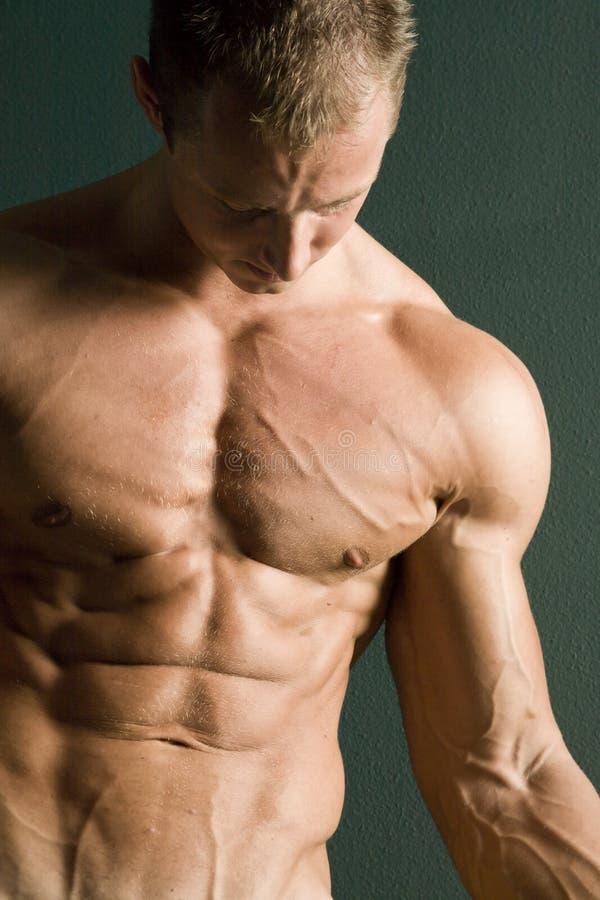 Santé et forme physique d'hommes photographie stock