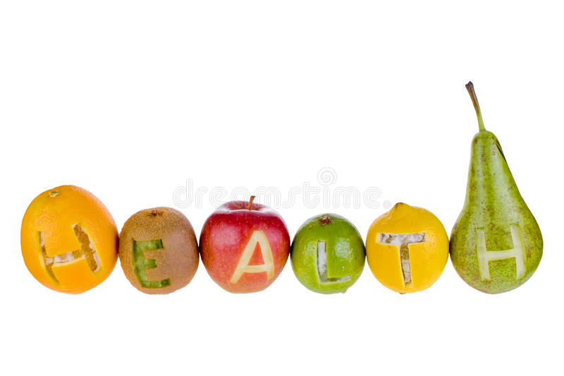 Santé et nutrition images stock