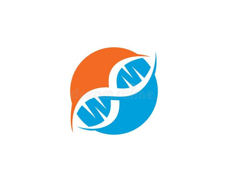 Santé Logo Gen médical illustration de vecteur