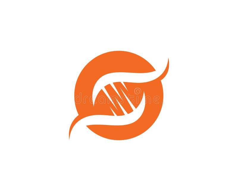 Santé Logo Gen médical illustration libre de droits