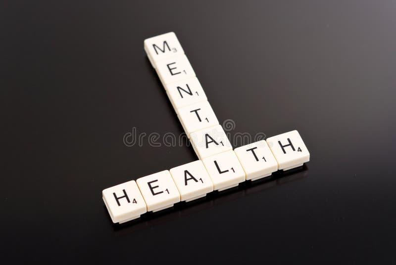 Santé mentale photo stock