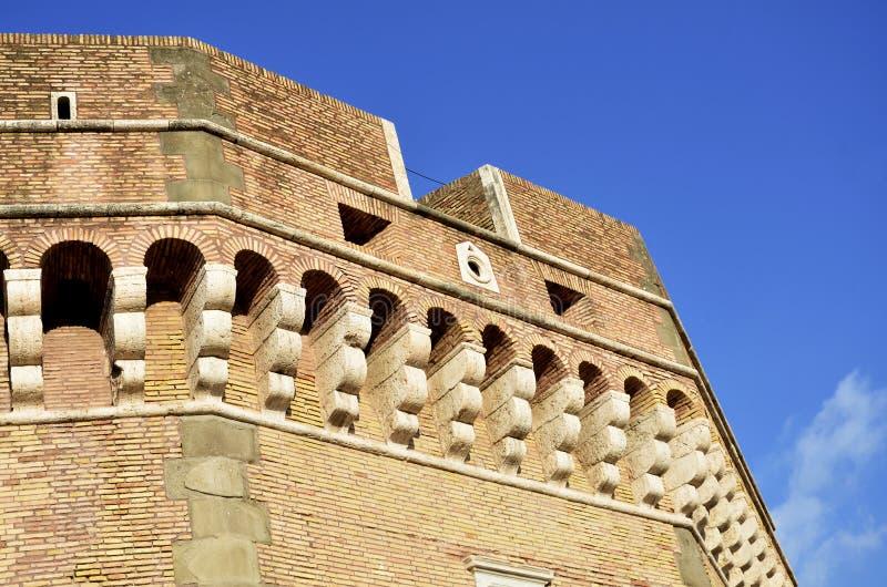 Sant安吉洛城堡在罗马 免版税库存图片
