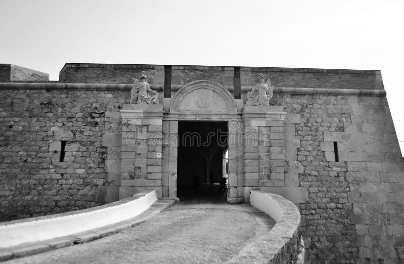 Sant弗尔朗城堡在菲盖尔 库存图片