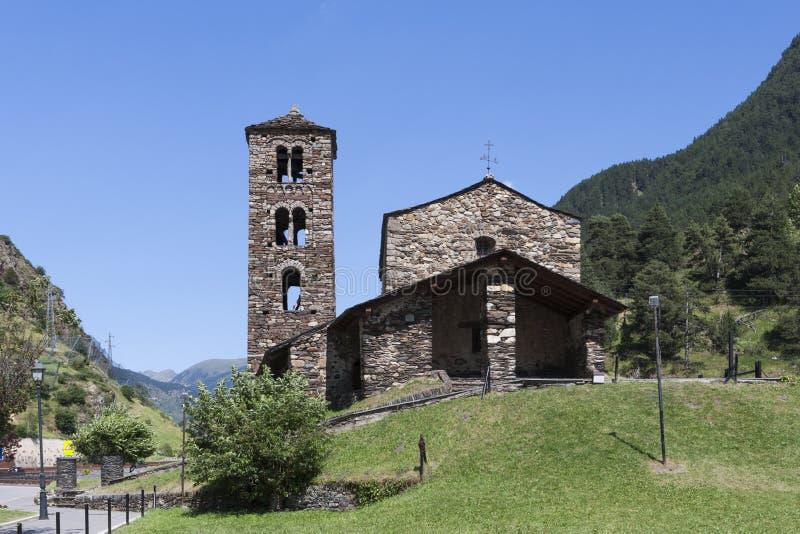 Sant霍安de Caselles教会  免版税库存照片