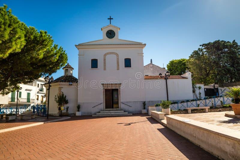 "Sant ""Antonioda Πάδοβα εκκλησία-Peschici, Πούλια, Ιταλία στοκ φωτογραφία με δικαίωμα ελεύθερης χρήσης"