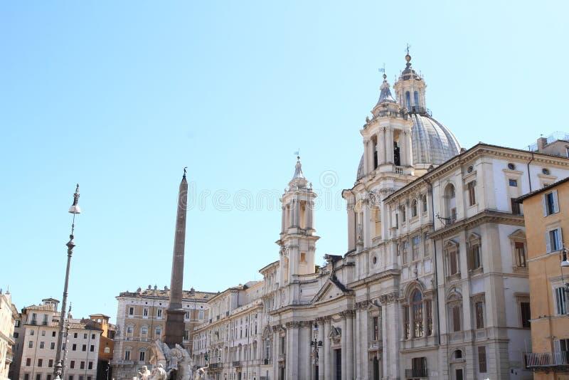 Sant-` Agnese in Agone stockbilder