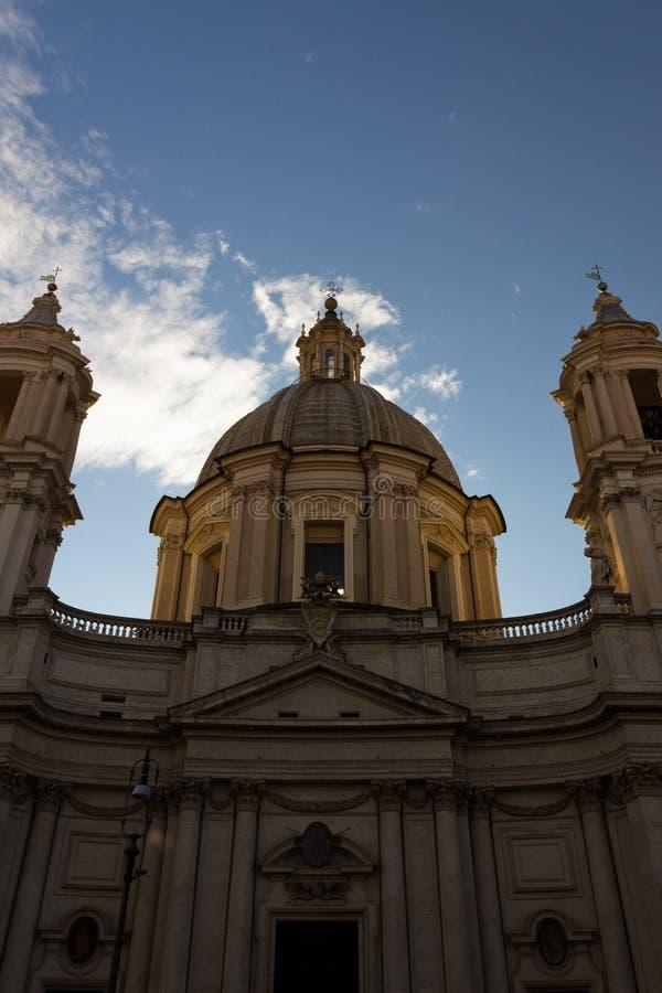 Sant-` Agnese in Agone lizenzfreie stockfotos