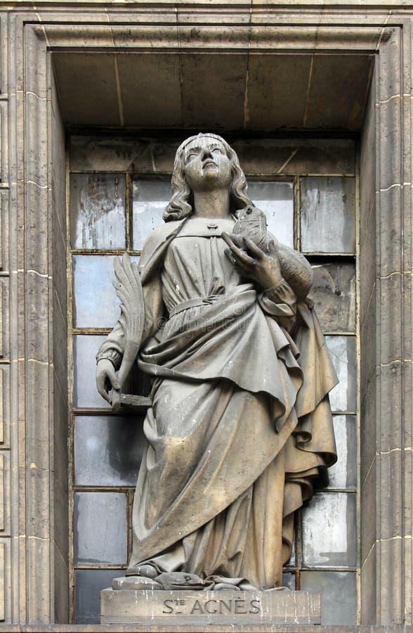 Sant'Agnese di Roma immagini stock libere da diritti