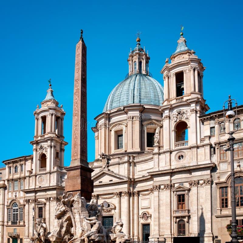 Sant `Agnese, Rom - Italien stockfotografie