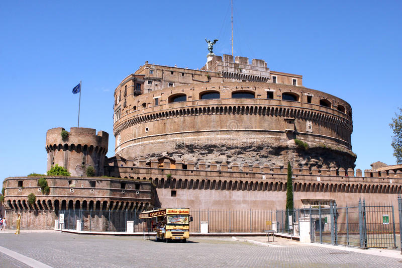 Sant Angelo Castle Rome Italy royalty-vrije stock foto