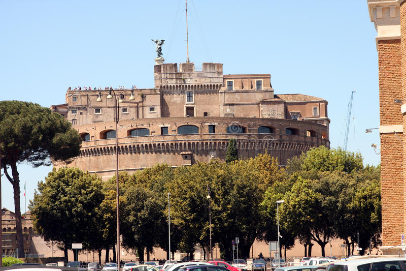 Sant Angelo Castle Rome Italy photographie stock libre de droits