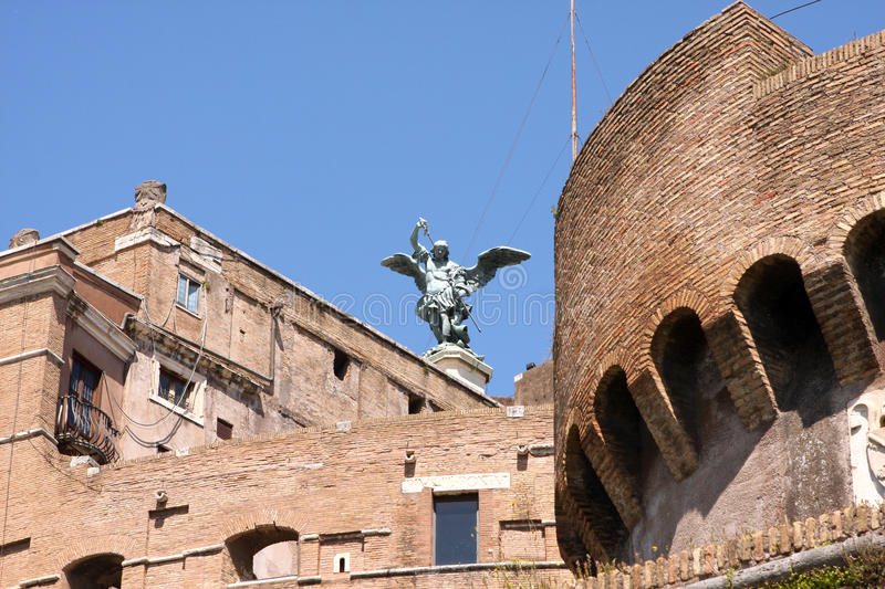 Sant Angelo Castle Rome Italy stock afbeelding