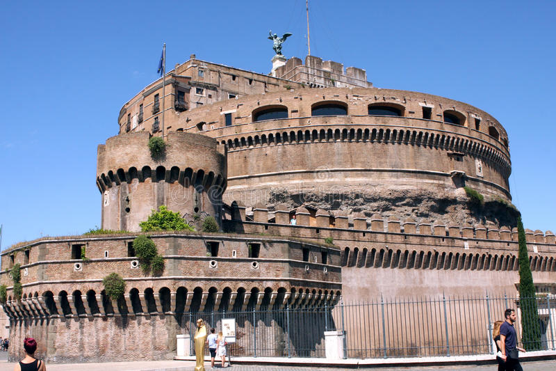 Sant Angelo Castle Rome Italy photo stock