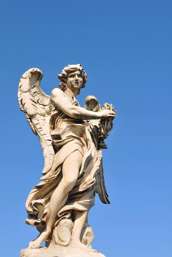 sant Angelo szczegół architektoniczny grodowy obraz stock