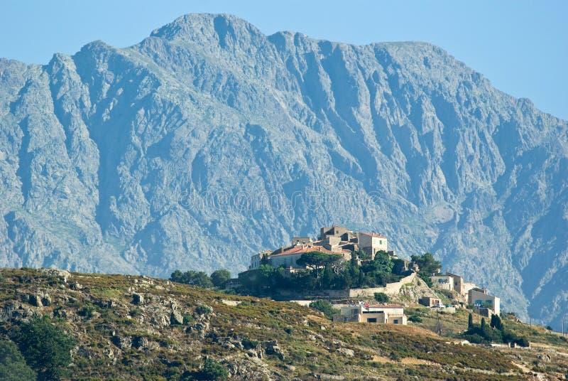 Sant \ 'Antonino (Corsica) stock fotografie