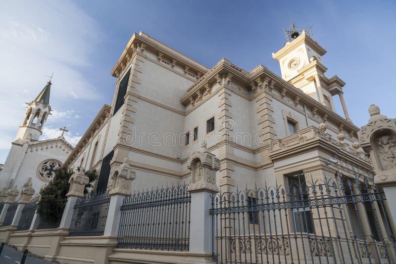 Sant Boi Llobregat,卡塔龙尼亚,西班牙 免版税库存图片